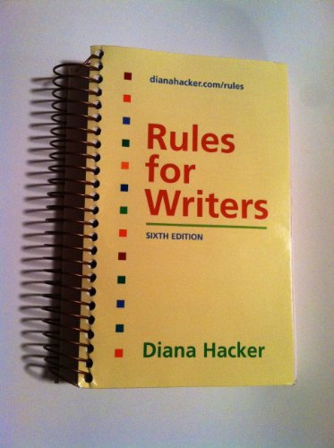 Rules for Writers (Sixth Edition)