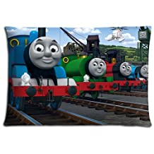 """16x24 16""""x24"""" 40x60cm pillowshell cases covers [ Polyester - Cotton ] lightweight comfort Thomas the Tank Engine & Friends"""