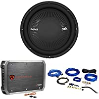 "Polk Audio MM 1242 SVC 12"" 1260 Watt Car/Marine Subwoofer Sub+Amplifier+Amp Kit"