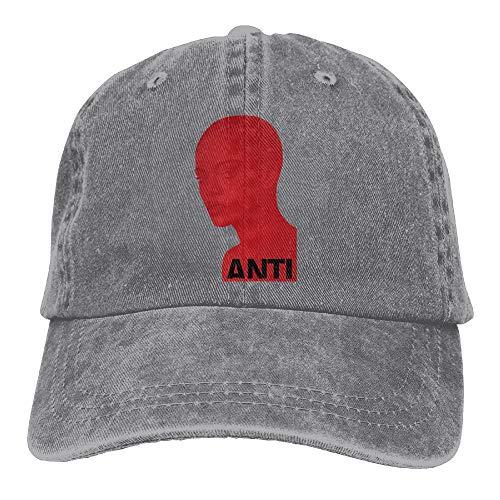 65e71006 Chesae Siuye Unisex Red-Rihanna-Anti Besaball Caps Adjustable Trucker Hat
