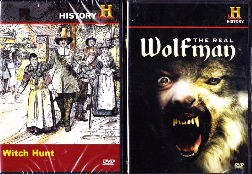 The History Channel : Witch Hunt - The Salem Witch Trials , the Real Wolfman : Collectors 2 Pack Gift Set -