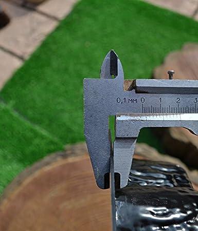 Set von 2 Trittstein Blockplatte Platte Plastickform Beton f/ür Gartenweg #S12