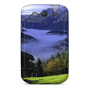 Galaxy S3 Case Cover With Shock Absorbent Protective ZemBKUn1325sRRPB Case