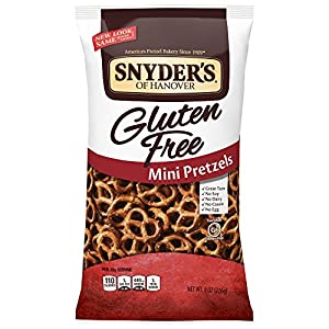 Snyder's of Hanover Gluten Free Mini Pretzels, 8 oz