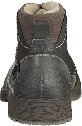 Rieker Hombre Botas gris, (rauch/rauch/fumo) 33314-46
