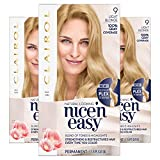 Clairol Nice'n Easy Permanent Hair Color, 103/9 Light Blonde, 3 Count