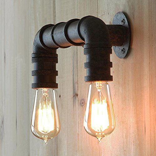 BAYCHEER HL371005 Steel Pipe Double Metal Wall Lamp