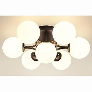 Sxkt. Lámpara de Techo Americana Personalidad Creativa ...