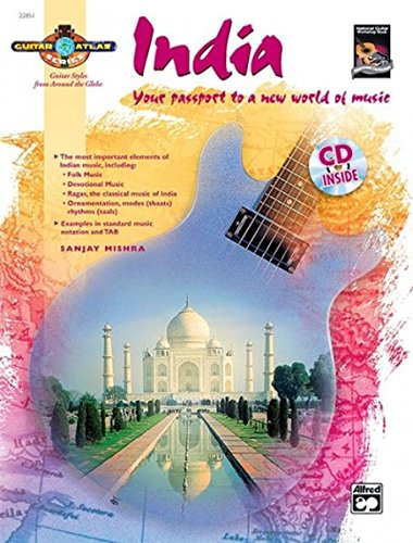 Guitar Atlas India: Your passport to a new world of music, Book & CD