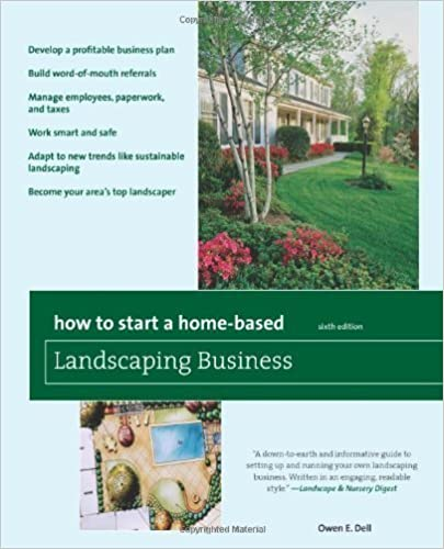 Download How to Start a Home-Based Landscaping Business, 6th: *Develop a profitable business plan *Build word-of-mouth referrals *Handle employees, paperwork, and taxes *Work smart and safe *Adapt to new trends like sustainable landscaping *Become your area's top  PDF, azw (Kindle), ePub, doc, mobi