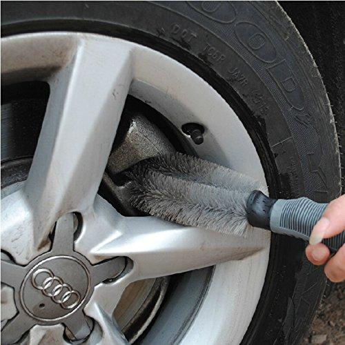 winomo Jante Brosse Roues main n/écessaire pinceau pour voiture nettoyage