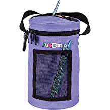 ArtBin 6832AG Mini Yarn Drum Knitting & Crochet Tote Bag, Periwinkle
