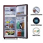 Godrej 236 L 2 Star Inverter Frost-Free Double Door Refrigerator with Jumbo Vegetable Tray (RF EON 236B 25 HI SC DR…