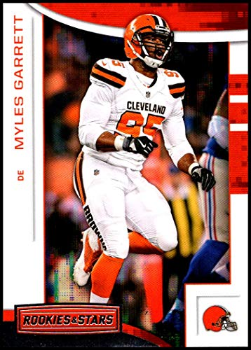 b1b3a6f5 2018 Panini Rookies and Stars #70 Myles Garrett NM-MT Cleveland Browns Official  NFL Football Card