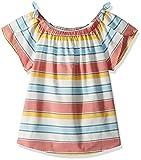 Lucky Brand Big Girls' Short Sleeve Fashion Top, ilyssa Marshmallow, Small (7)