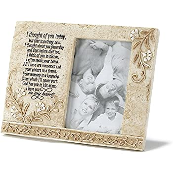 Amazon.com - Memorial Angel Keepsake Picture Frame - Memorial Gifts