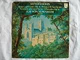 9500 162 ILSE VON ALPENHEIM Mendelssohn Rondo Capriccioso etc LP