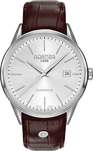 Roamer SUPERIOR 3H GENTS 508833 41 15 05 Mens Wristwatch