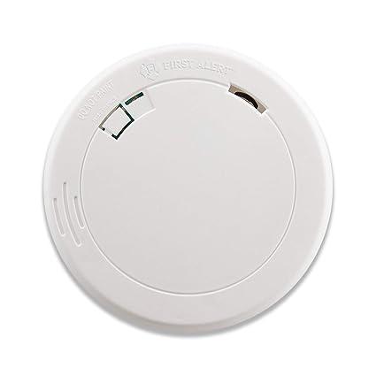 First Alert PR700 Slim Funciona con Pilas Detector de Humos fotoeléctrico