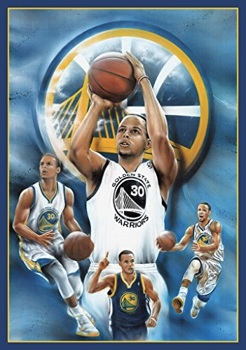 Poster Stephen Curry Golden State Warriors Basketball Sports