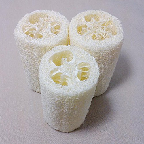 Ladybug Costume Babies R Us (3pcs Natural Loofah Loofa Bath Sponge Spa Body Sponges Scrubber Horniness Remover Bathing Sponge Massage Shower Bath Scrub)