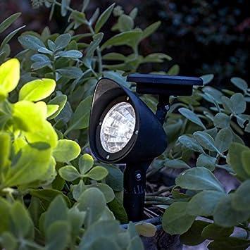 White led solar powered garden spot light by lights4fun amazon white led solar powered garden spot light by lights4fun aloadofball Image collections