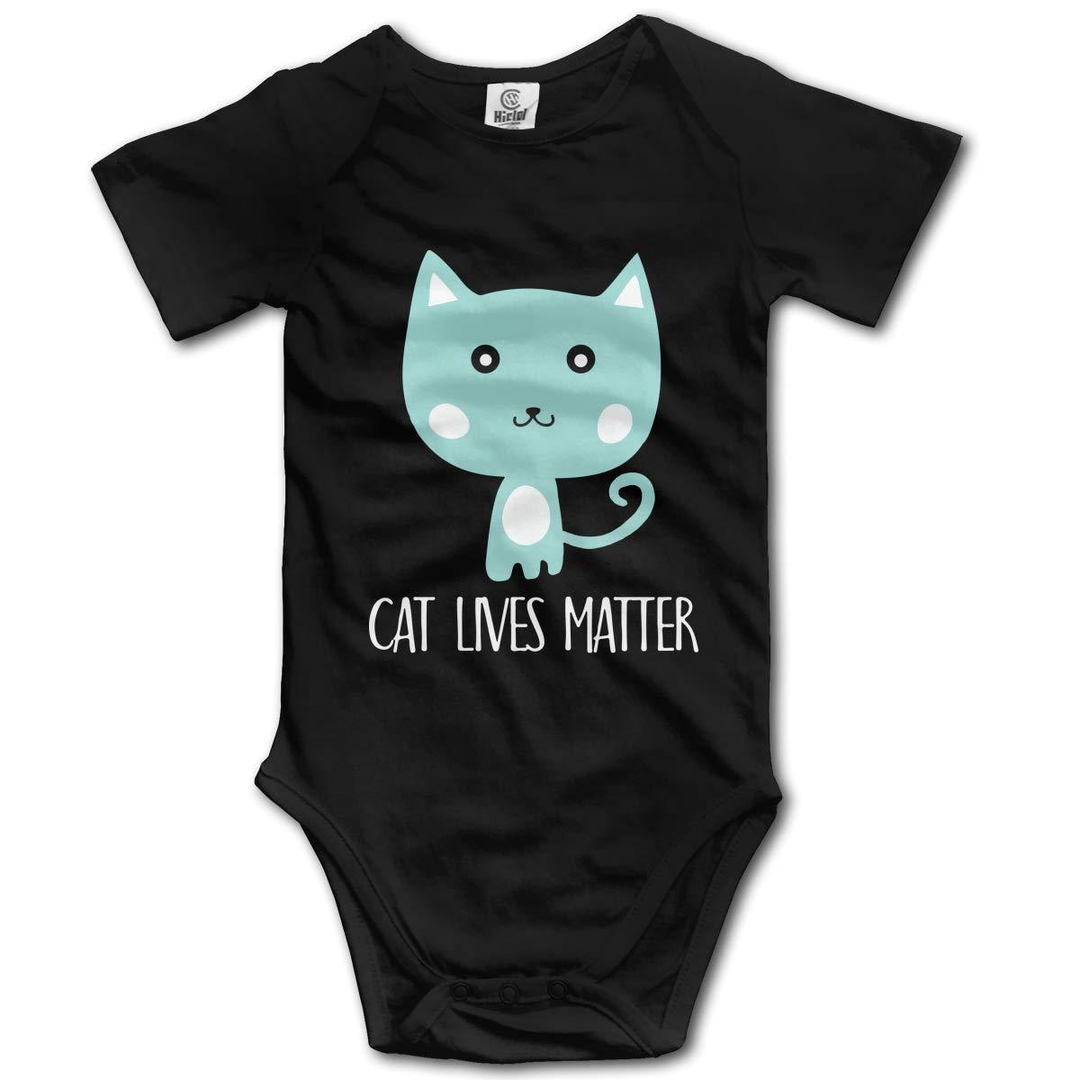 Cat Lives Matter1 Newborn Infant Baby 100/% Organic Cotton Layette Bodysuit 0-24M