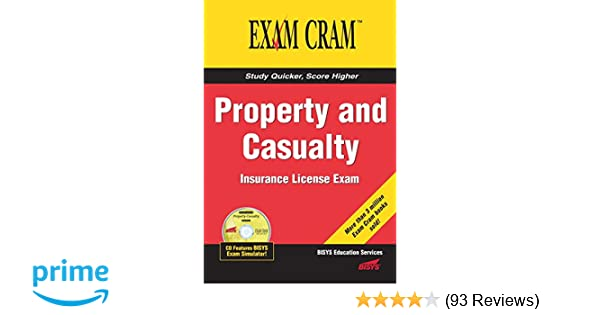 Property and casualty insurance license exam cram bisys educational property and casualty insurance license exam cram bisys educational services 9780789732644 amazon books fandeluxe Gallery