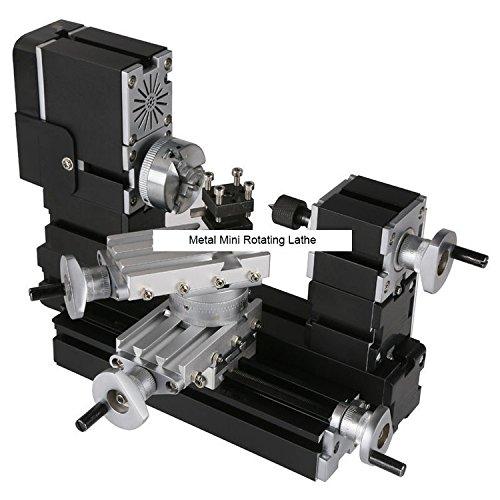 TZ20002MRP 60W Electroplated Metal Mini Rotating Lathe/60W,12000rpm Electroplating metal rotated lathe by MUCHENTEC
