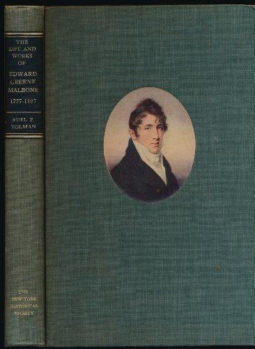The Life and Works of Edward Greene Malbone, 1777-1807 (The John Devine Jones Fund Series of Histories and Memoirs, - Hudson Bingham