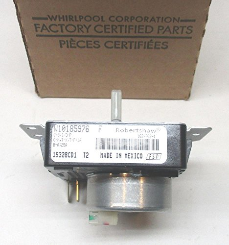 (Major Appliances W10185976 Whirlpool Kenmore Dryer Timer Control PS2348529 AP4373097)
