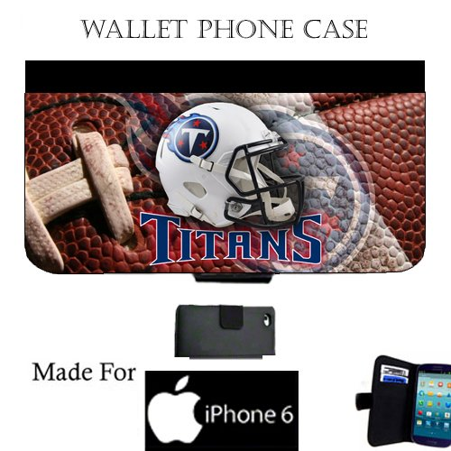 Titans Wallet cell phone Case / Cover Fits iPhone 6 Great Gift Idea Tennessee Football