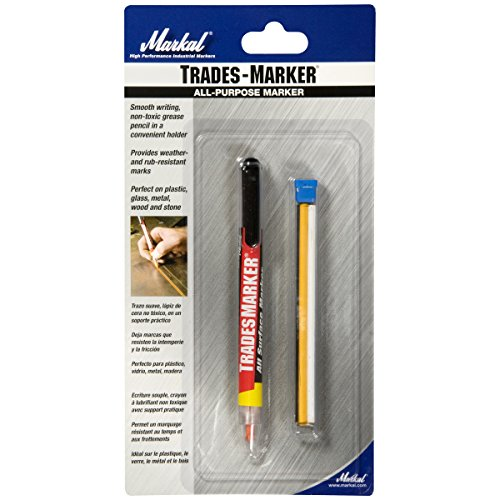 Markal 96000 Trades Marker 5 Assorted Colors and Holder