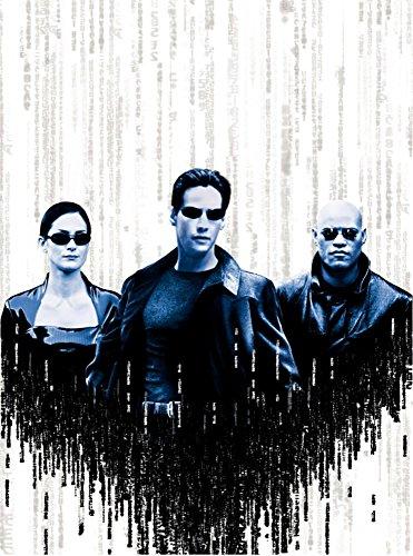 JIONK® The Matrix Movie Poster 24X31.5''