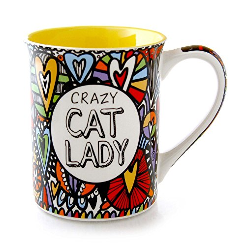 Our Name Is Mud Cat Lady Cuppa Doodle Mug