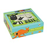 Baby Animal Block Puzzle, Mudpuppy Press Staff, 0735301743