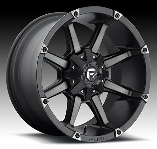 FUEL Coupler MBT-Matte BLK DDT Wheel with Painted (22 x 9. inches /6 x 135 mm, -44 mm Offset)