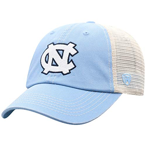 Top of the World North Carolina Tar Heels Men's Vintage Hat Icon, Blue, Adjustable