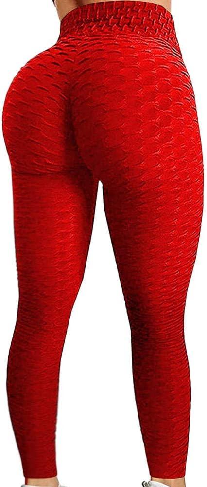 Pantalones De Yoga De Cintura Alta, Las Mujeres Son Buenas En Leggings De Entrenamiento Anticelulósicos Para Mujeres, Leggings De Levantamiento De Leggings Mujer Licras Deportivas De Mujer