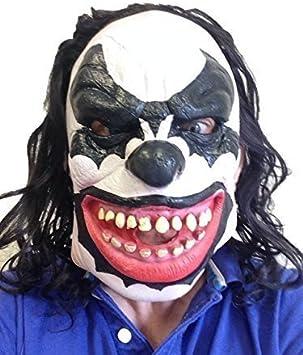 Kiss Demonio Payaso Máscara De Látex Disfraz Para Fiesta De ...