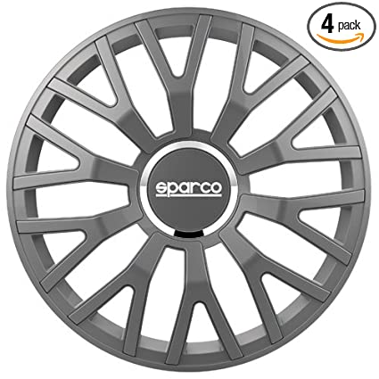 Amazon.com: Sparco SPC1610GR Leggera Wheel Covers, Grey, Set of 4, 16