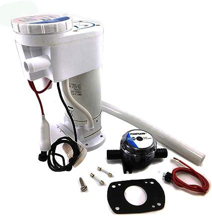Jabsco Kit de Juntas y Sellado Inodoro Electrico