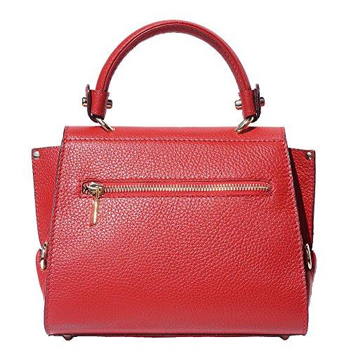 bolso Market Rojo 9134 Mini Manija Florence 'sofia' Con La Sola Leather qtgvT