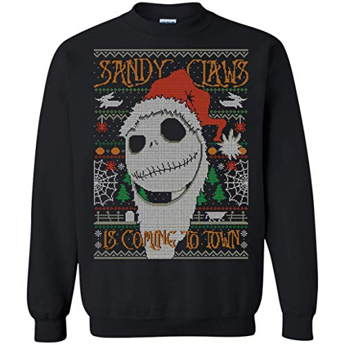 Jack Skellington Nightmare Before Christmas Ugly Sweatshirt