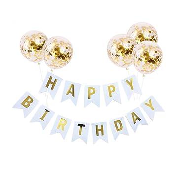KunFu Mall Kit de decoración de Fiesta de cumpleaños, 1 ...