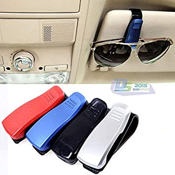 019d739f9a3 FidgetGear Car Auto Sun Visor Clip Sunglasses Eyeglass Reading Glasses  Tickets Cards Holder  Amazon.in  Home   Kitchen