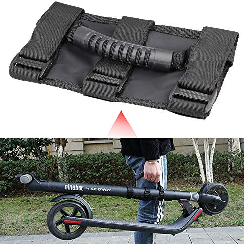 (Carry Hand Strap Belt for Electric Scooter, Dilated Skateboard Carrying Handle Bandage Straps Labor Saving Webbing for Xiaomi Mijia M365 Scooter Ninebot ES1/ES2/ES3/ES4)