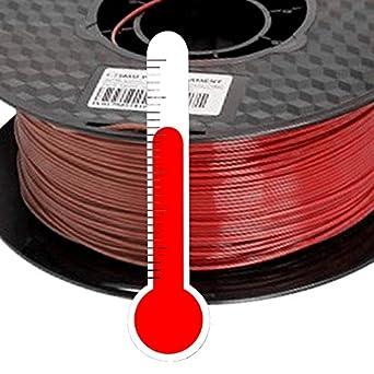 Impresora 3d PLA Filamento 1,75 mm Cambio de color Temp. Café A ...