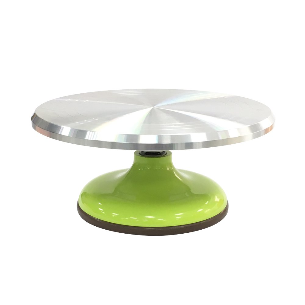 SAN NENG Revolving Cake Stand, Baking Supplies Cake Decorating Supplies Rotate Table - Powder Blue