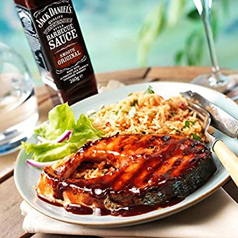 Jack Daniels Barbecue Sauce Smooth Original 2x260ml: Amazon.nl